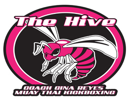 Gina Reyes San Diego Muay Thai Fight Team Logo.